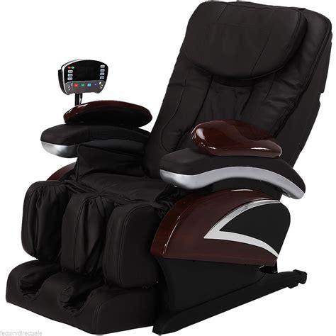 full recliner chair electronic full body shiatsu massage chair recliner w heat
