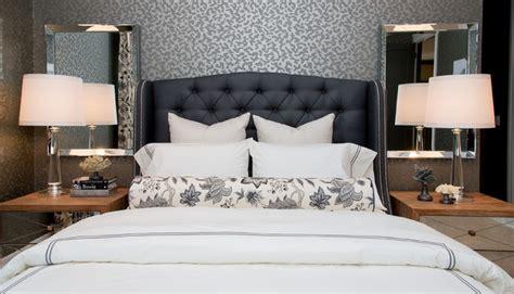 glamorous grey bedroom decor grey tufted headboard atmosphere interior design glamorous gray master bedroom