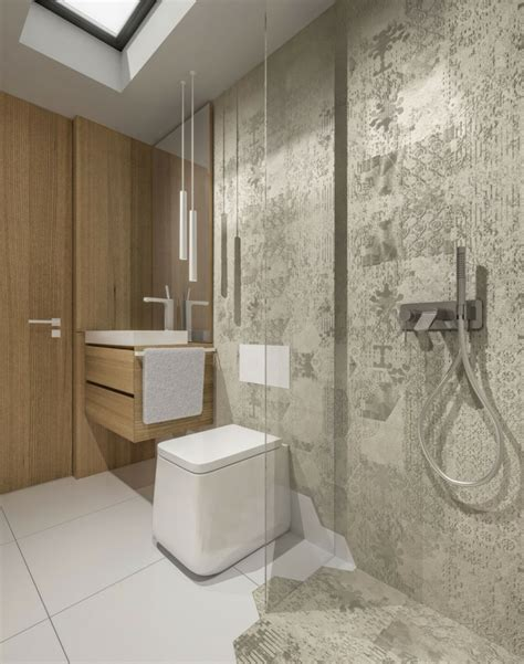 lila und graues badezimmer yarial wandgestaltung lila wei 223 grau interessante
