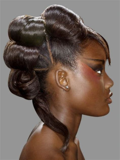cute black pin up hairstyles black hairstyles