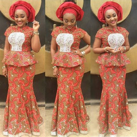 nigeria sewing styles 9 amazing nigerian traditional skirt and blouse styles