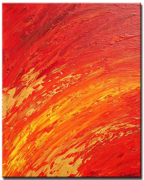 orange painting yessy gt abstract art by sharon cummings gallery gt solar