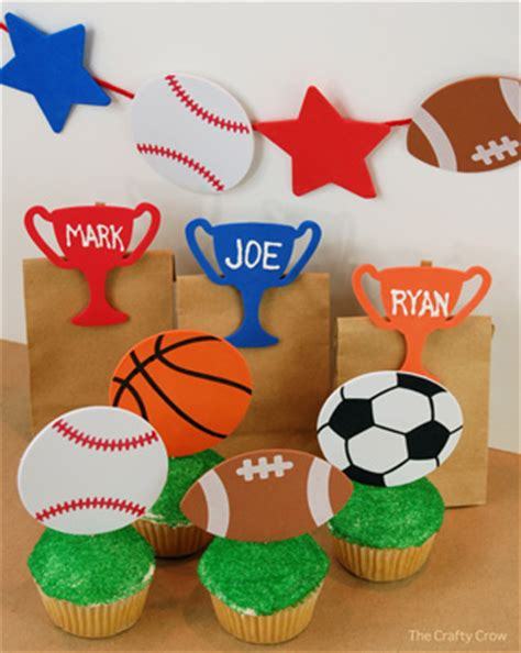 Sports Day Decoration by Easy Sports Decorations Favors Things To Make