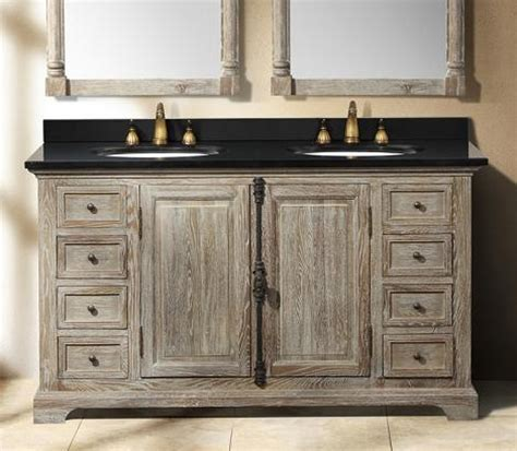 grey wood bathroom vanity going gray aged wood bathroom vanities for a natural
