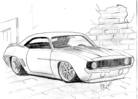 imagenes para dibujar a lapiz de autos dibujos de autos al piso a lapiz para descargar dibujos