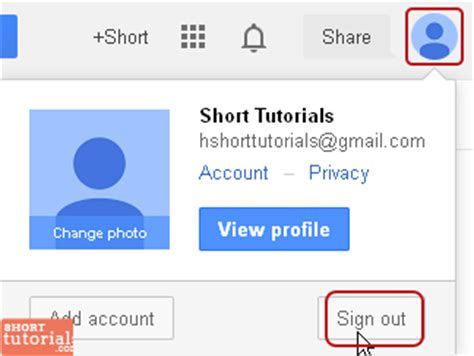sign out of gmail on android gmail email account login page