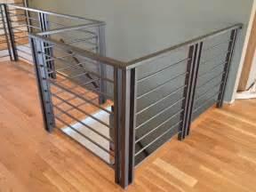 Outdoor Banister Railing Custom Modern Railing Amp Handrail Smw