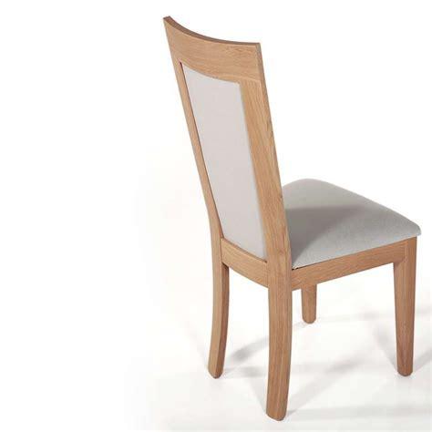 le bois de la chaise chaise en bois et tissu rembourr 233 crocus 4 pieds