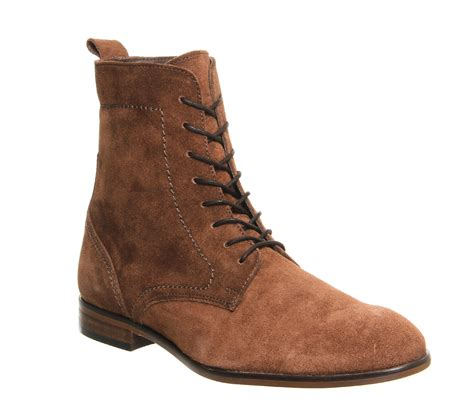 mens lace up boot mens h by hudson martin lace up boot suede ankle boots