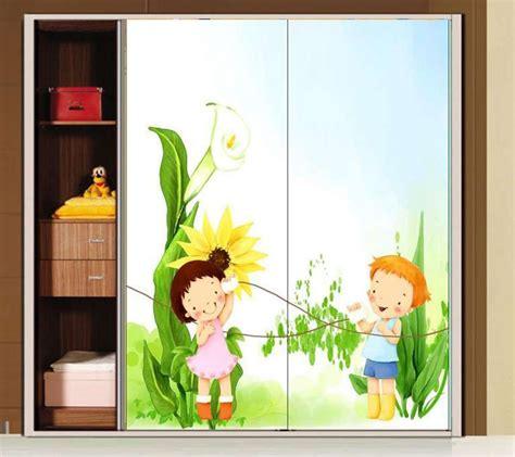 adesivi per armadi bambini decorazioni adesive per mobili foto design mag