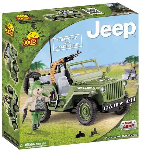 army jeep with gun willys mb with machine gun cobi blocks from eu
