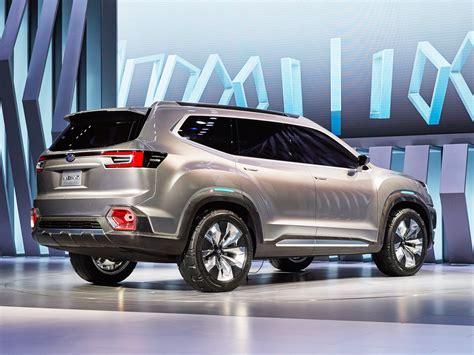 Subaru Suv subaru just unveiled a new three row suv called the viziv