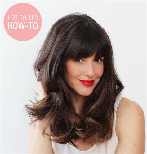 hot roller curled bob hairstyle how to hot roller your hair oldschool ad sallybeauty