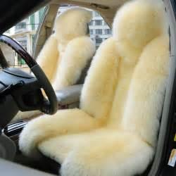 Sheepskin Car Covers Darwin One Set Beige Genuine Sheepskin Car Accessories Car Seat
