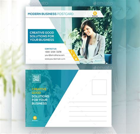 Business Post Card Choice Image   Business Card Template