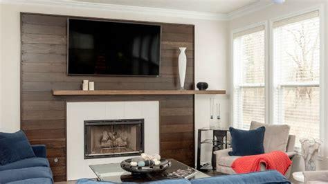 project highlight modern fireplace mantel  feature