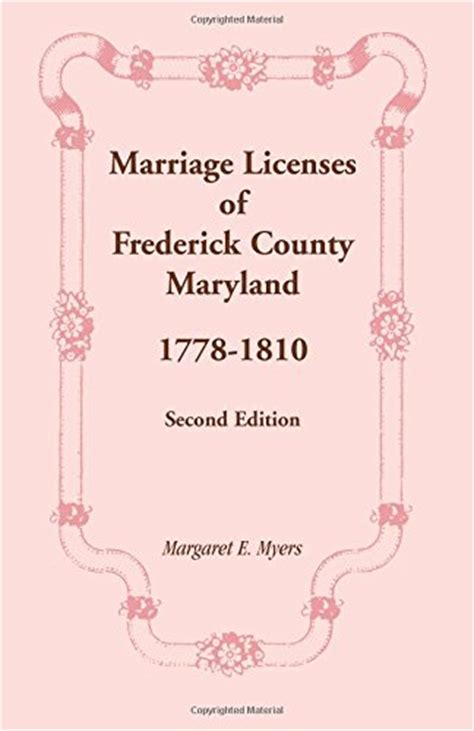 Marriage Records Md Free Biography Of Author Margaret E Myers Booking Appearances