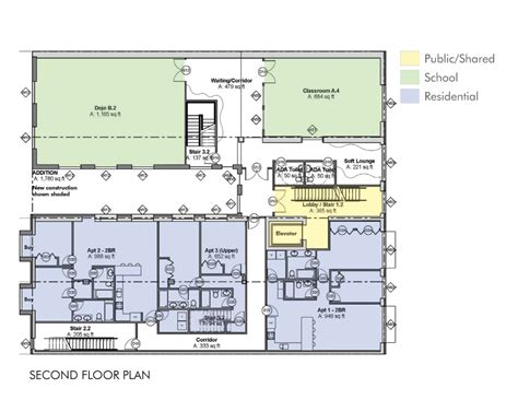 mixed use floor plans passive house mixed use martial arts studio blupath design