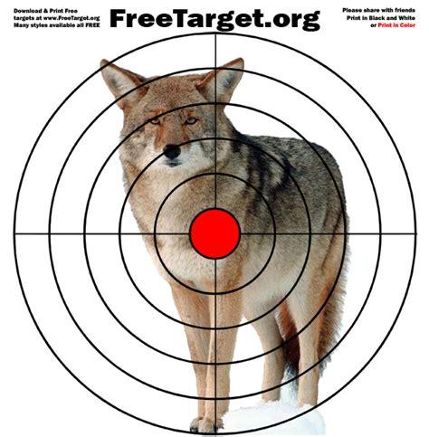 printable animal targets for shooting practice animal shooting targets to print www pixshark com