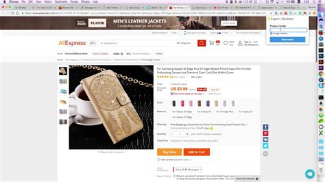 export product reviews from aliexpress to shopify version