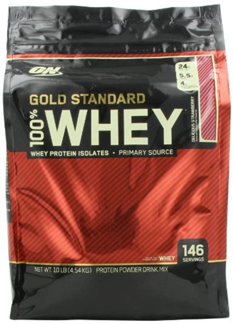 On Whey Gold Standard 10lbs optimum nutrition whey optimum nutrition 100 whey gold standard delicious strawberry 10