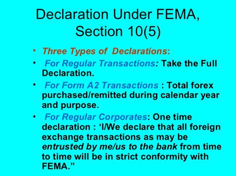 Section 3 Of Fema by Overview Of International Banking Business