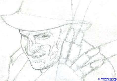 draw freddy krueger freddy krueger nightmare on elm