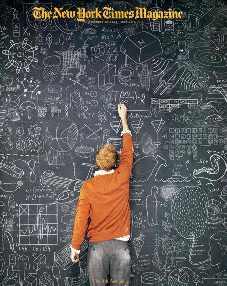 chalkboard paint coverage ny times magazine cover year in ideas 2004 photograph by