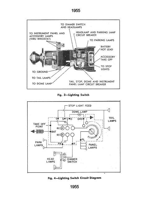 headlight switch wiring diagram chevy truck  wiring