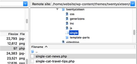 create php template how to create custom single post templates in