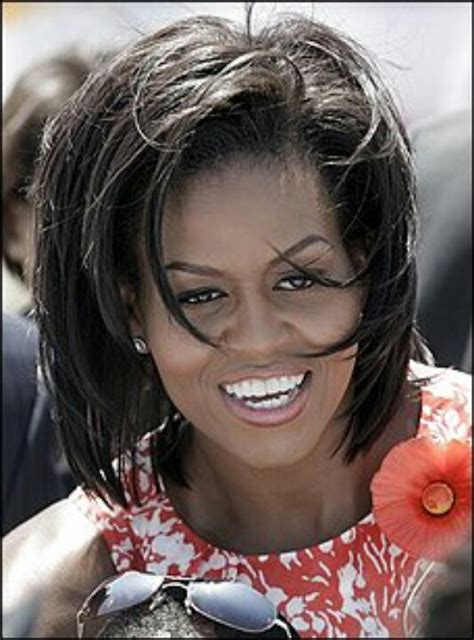 obama wife haircut mom wife in chief 1st lady michelle obama the