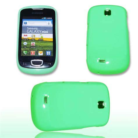 Casing Hp Samsung Galaxy Mini Gt S5570 handy tasche silikon glossy f 252 r samsung gt s5570 galaxy mini gr 252 n h 252 lle