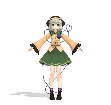 koishi komeiji eboshi mikumikudance wiki fandom