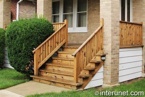 Wooden Front Stairs Design Ideas Porch Ideas Designs Styles Interunet