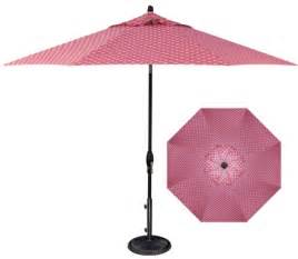 Pink Patio Umbrella Pink Polka Dot 9 Market Umbrella Marina Pool Spa Patio