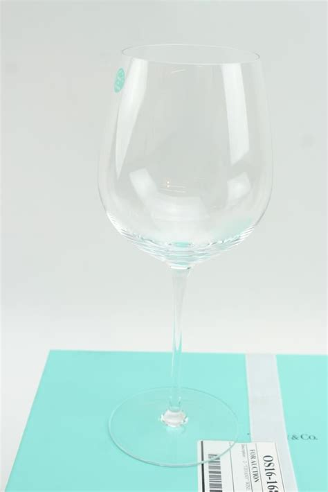 tiffany  wine glass set  pieces property room