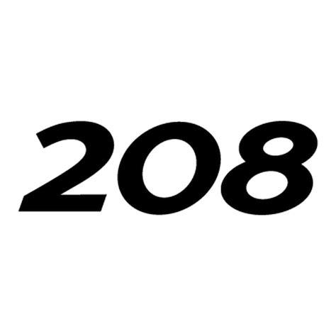 logo peugeot png peugeot 208 logo decal