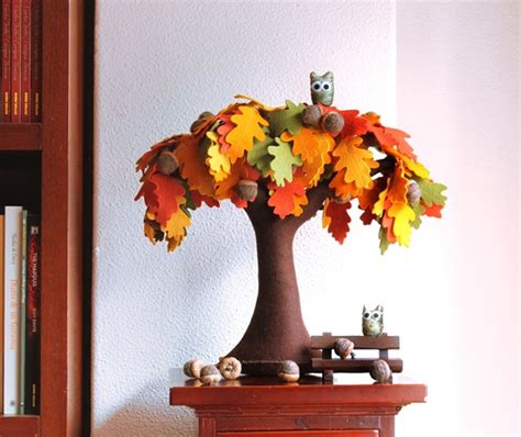 Handmade Trees - wonderful diy handmade felt trees