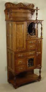 antique oak ransom randolph dental cabinet 75 ebay