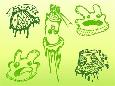 doodle graffiti graffiti doodles vector