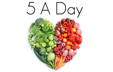 5 vegetables a day do you achieve the 5 a day global connected