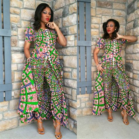 Simple Gown Styles With Ankara