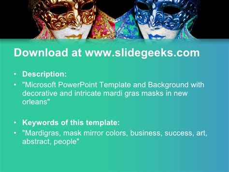 Mardigras Ppt Templates Mardi Gras Powerpoint Template Free