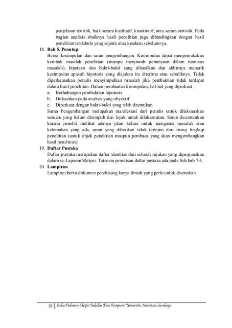 Mk153027 pedoman skripsi-fasilkom_unnar_okt2013