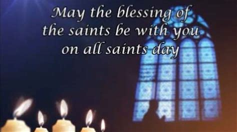 May The Blessing  Free All Saints' Day eCards, Greeting
