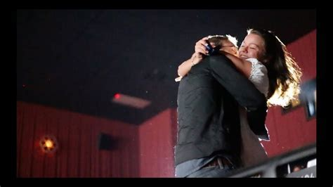 Best Movie Theater Marriage Proposal Ever (With Her Live