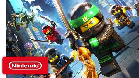 Lego Ninjago The Nintendo Swicht lego ninjago launch trailer nintendo switch nintendo switch