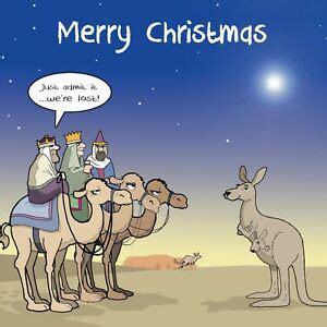 merry christmas card   wise men funny christmas card xmas card lost  ebay