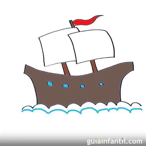 barco dibujos faciles c 243 mo dibujar un buque de vela dibujos de barcos para ni 241 os