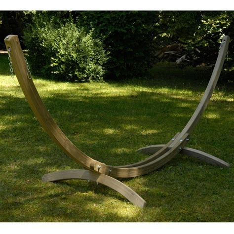 For Living Hammock Stand the olymp wooden garden hammock stand westmount living